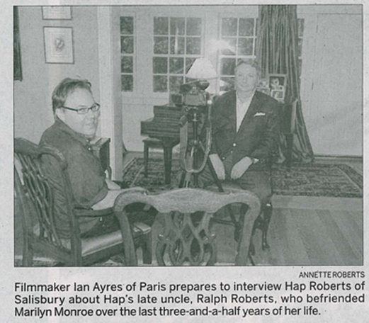 Ian Ayres & Hap Roberts (photo by Annette Roberts)