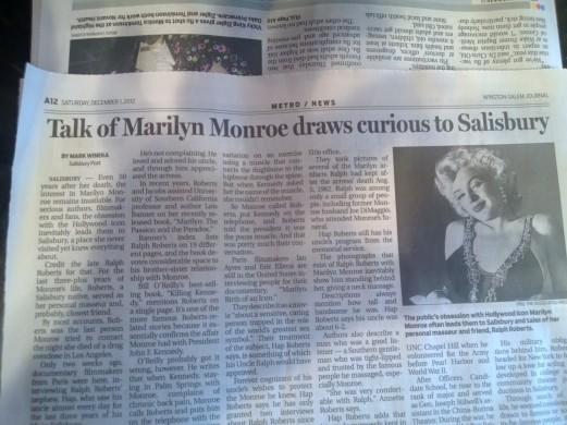 Ralph Roberts & Marilyn Monroe & Ian Ayres