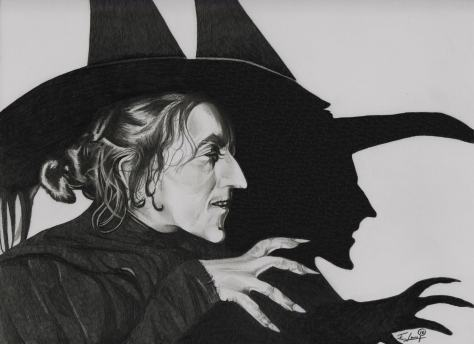 "Wicked Witch of the West ""The Wizard of Oz"" aka – Margaret Hamilton"
