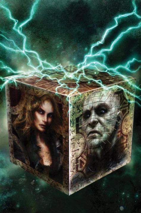 Hellraiser #6 coverart