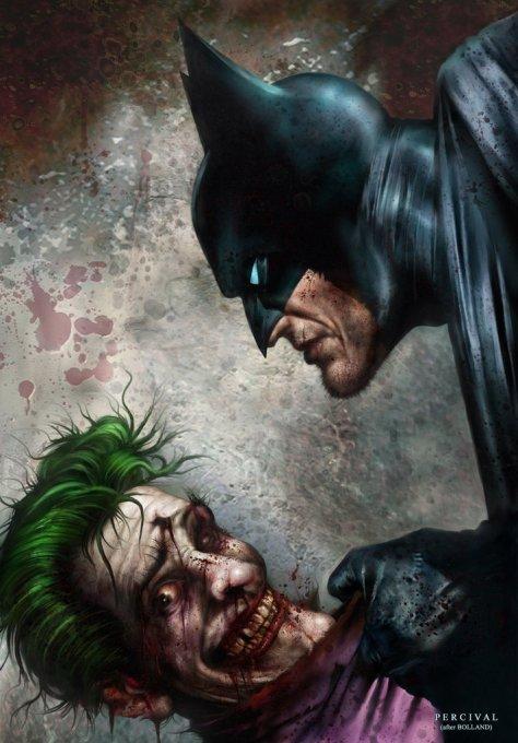 Bats vs Joker