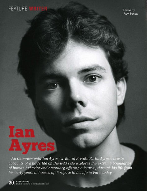 Ian Ayres (by Roy Schatt) Courtesy of Evoke Magazine