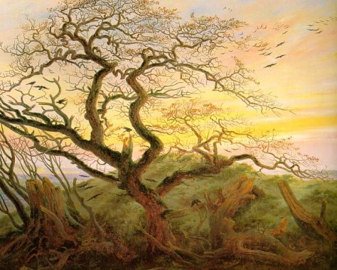 The Tree of Crows by Caspar David Friedrich