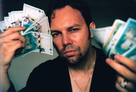 Ian Ayres with French Francs (by Eric Ellena)