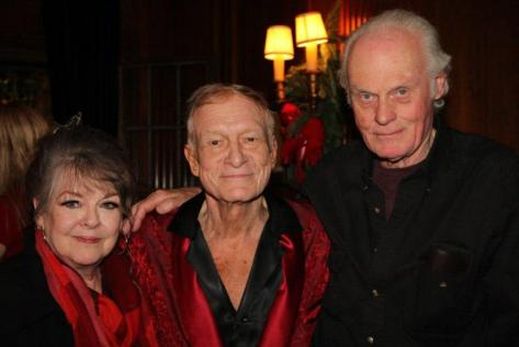 Sharon Rogers, Hugh Hefner, and John Gilmore
