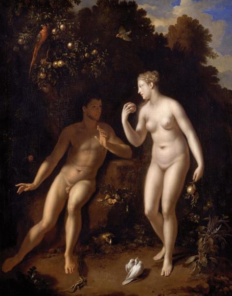 Adam & Eve (by Adriaen van der Werff)