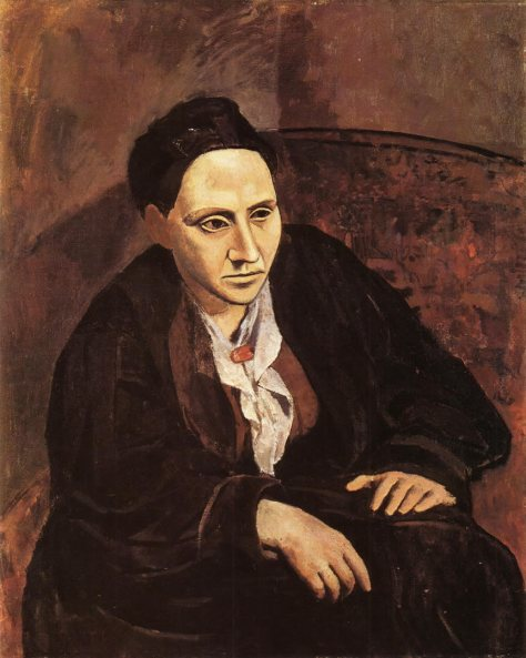 """Portrait of Gertrude Stein"" by Picasso"