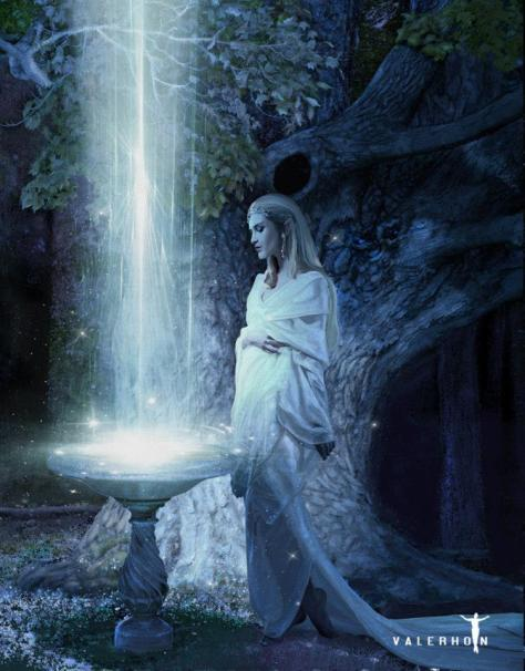Galadriel and Her Mirror