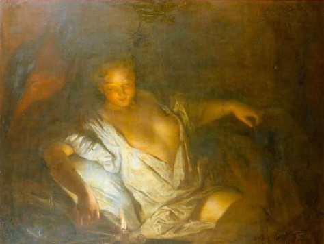 """Nocturne"" by Antoine Pesne c. 1718"