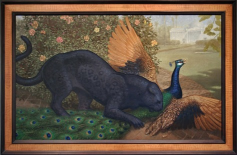 Panther and Peacock