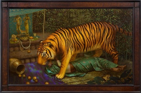 Tiger God and Forest Goddess