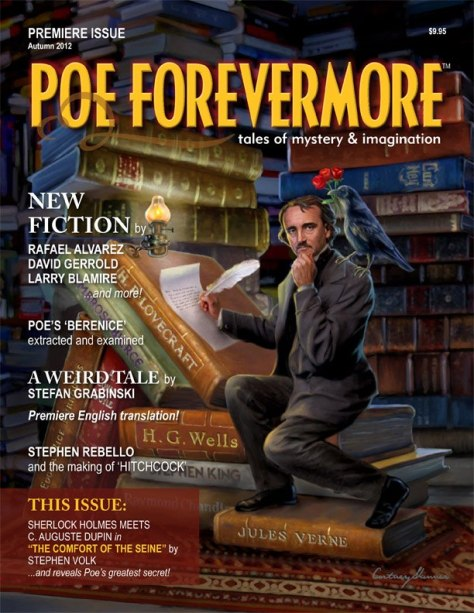 Poe Forevermore Magazine Cover