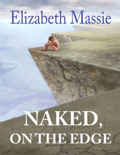 "Cover for Elizabeth Massie's ""Naked On The Edge"""
