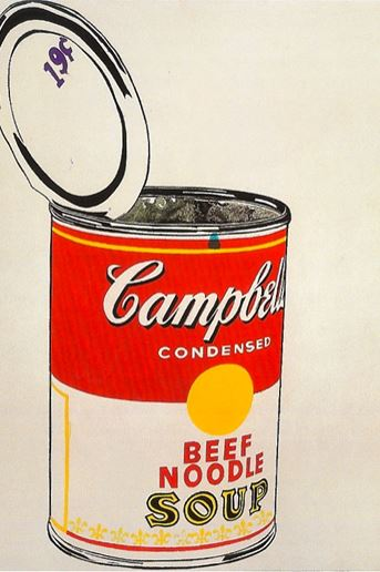 Illustration by Andy Warhol