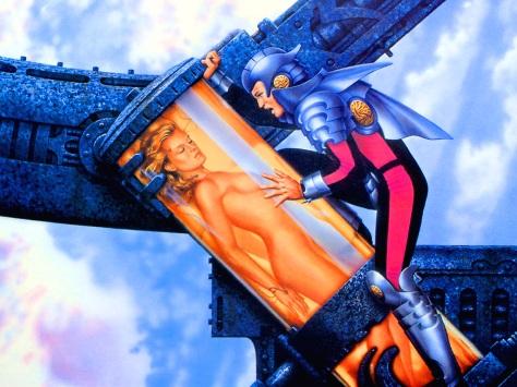 jw Year V Sci-Fi Art Wall 121 - Ciruelo Cabral