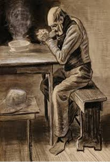 """Prayer"" by Vincent Van Gogh"