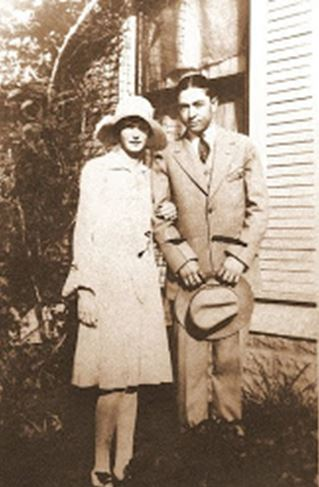 Clyde's first girlfriend, Eleanor Williams