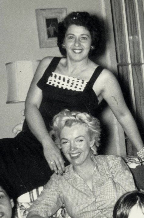 Helen  Rizzo & Marilyn Monroe