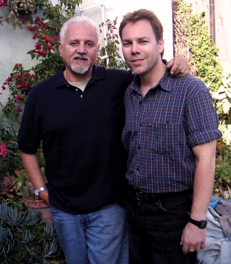 Felice Picano with Ian Ayres