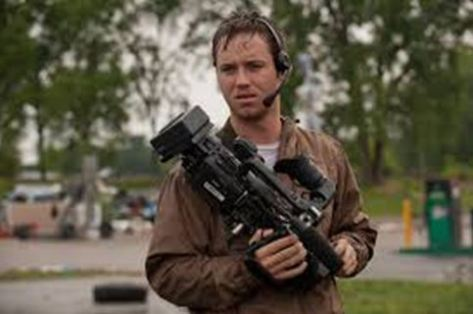 "Jeremy Sumpter as Jacob in New Line Cinema's and Village Roadshow Pictures' thriller ""INTO THE STORM,"" a Warner Bros. Pictures release. Photo by Ron Phillips"