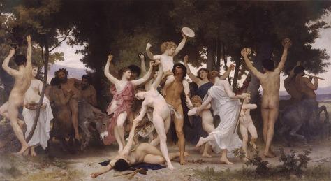 La jeunesse de Bacchus. (1884) youth of bacchus