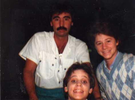 With Corey & Bernie Haim