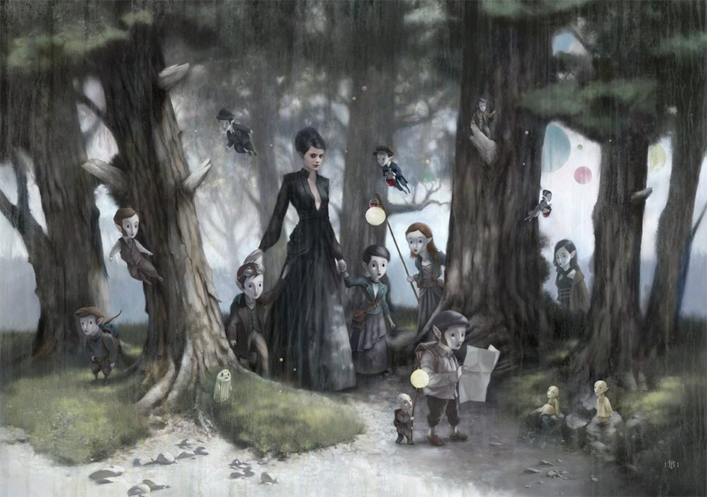The Art Of Tom Bagshaw Theoriginalvangoghsearanthology