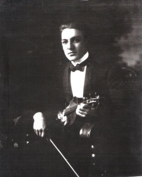 A.D's father who played first violin in the Denver Symphony.