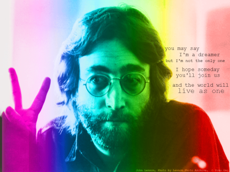 """John Lennon for Peace and Love"" © Yoko Ono"