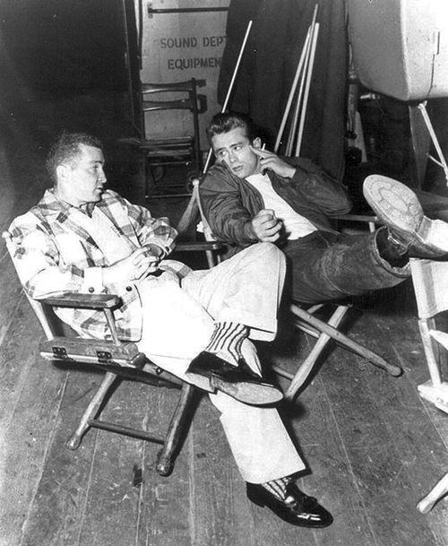 Lew Bracker & James Dean