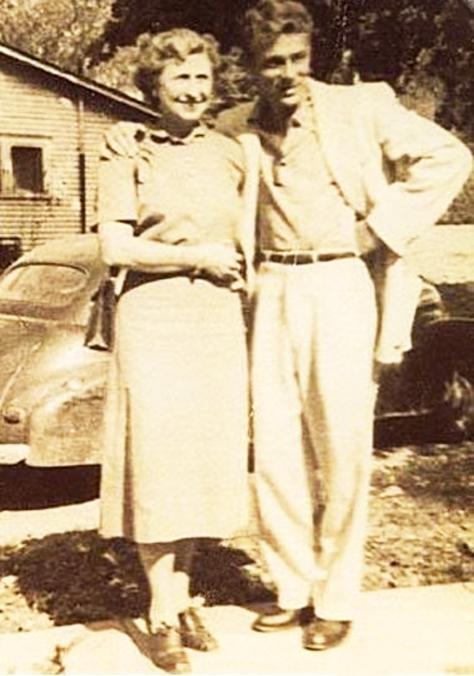 Adeline Nall & Jimmy Dean