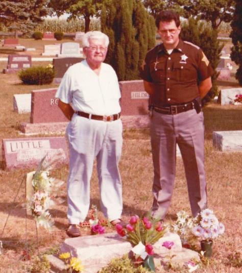 Deputy Sheriff Ferguson and Wilbur Hoskins