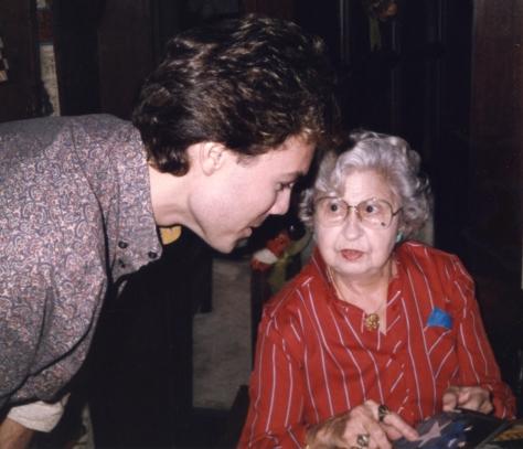 Ian Ayres & Adeline Nall (Sep 1985)