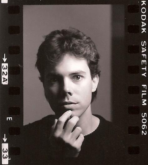 Ian Ayres (by Roy Schatt) 8 Oct 1986