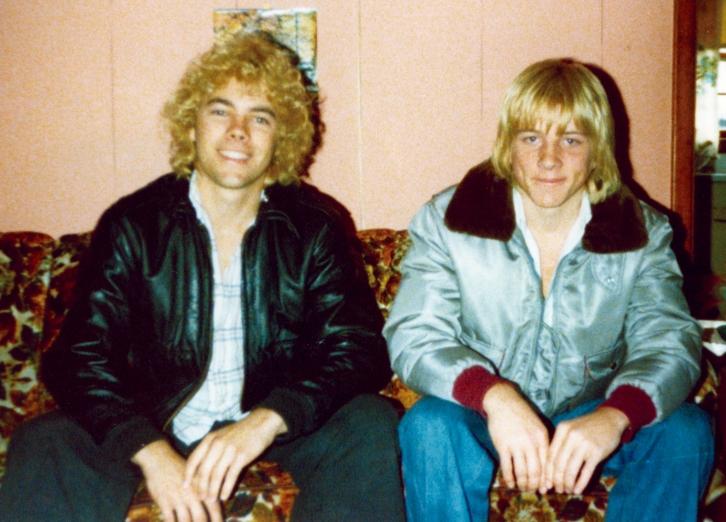 Ian Ayres & Troy Myers (aka porn star Jeremy Scott) April,1979