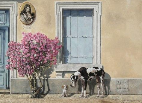 Juliette et les Esprits détail chiens