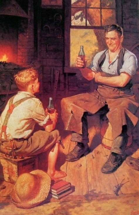 Coca-Cola Village Blacksmith